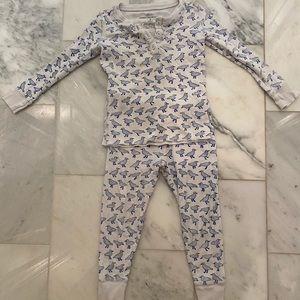 Roberta Roller Rabbit Pajamas 2T Jonathan Birds